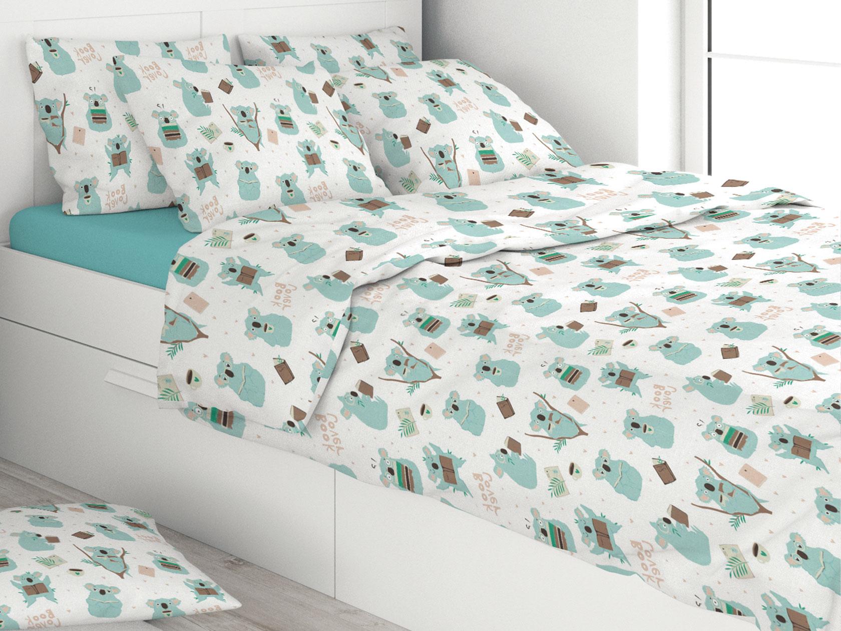 Комплект постельного белья Коалы