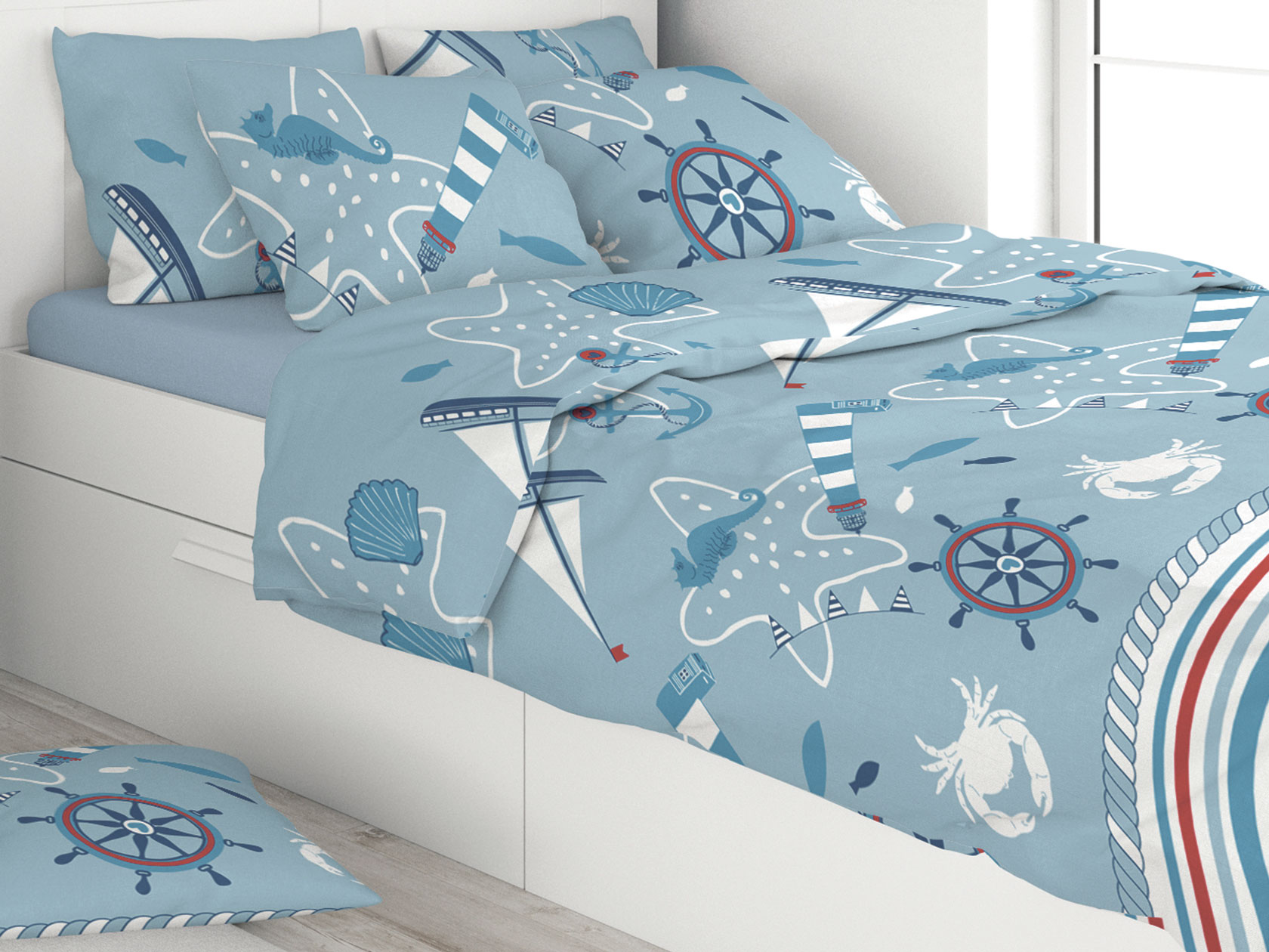 Комплект постельного белья Море