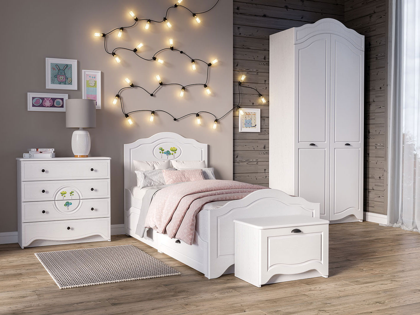 Комплект детской мебели Роуз